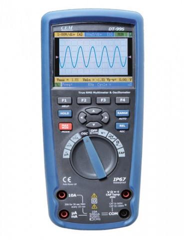 CEM DT-9989 цветной цифровой осциллограф мультиметр