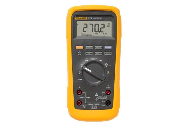 FLUKE 27 II - мультиметр цифровой промышленный ( в госреестре)