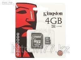 MicroSD Card kingston 4GB 10 class