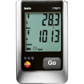 Testo 176 P1 5ти-канальный логгер данных давления, температуры и влажности с внутренним сенсором (абсалютного