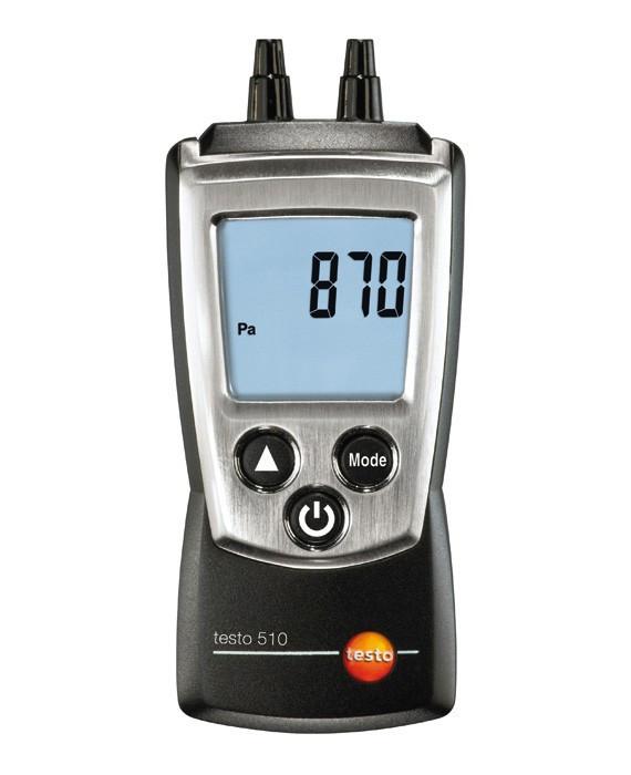 Testo 510 - Карманный дифференциальный манометр