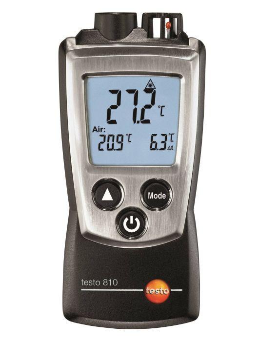 Testo 810 - 2-х канальный прибор измерения температуры с ИК-термометром (В Госреестре РК)
