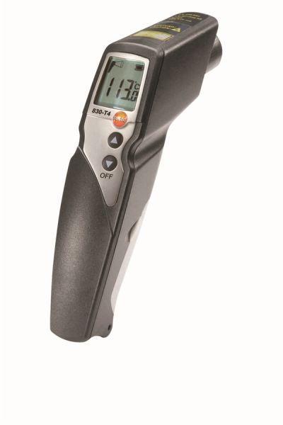 Testo 830-T4 - Инфракрасный термометр с 2-х точечным лазерным целеуказателем (оптика 30:1) В Госреестре РК