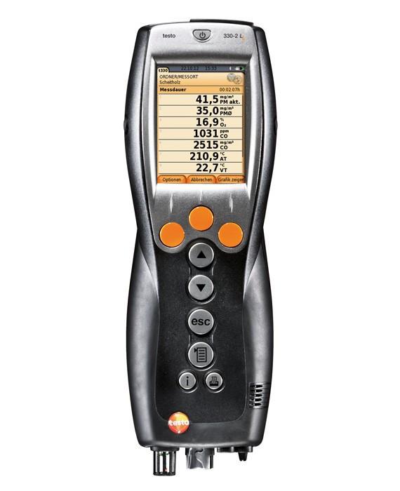 Testo Газоанализатор Testo 330 -1 Longlife с цветным дисплеем