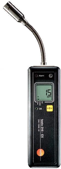 Testo Детектор утечек газов Testo 316-ЕХ во взрывозащищенном исполнении