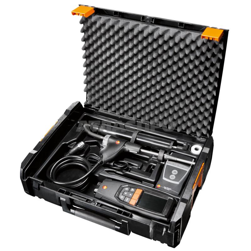 Testo Комплект газоанализатора testo 320 сH2 компенсацией.  Включая зонд отбора пробы  (0660 9741), блок питан