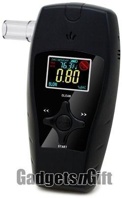 Алкотестер с цветным дисплеем AAT198-Premium