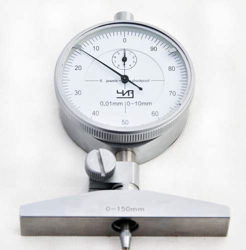 Глубиномер индикаторные ЧИЗ 0,01мм   ГИ-150