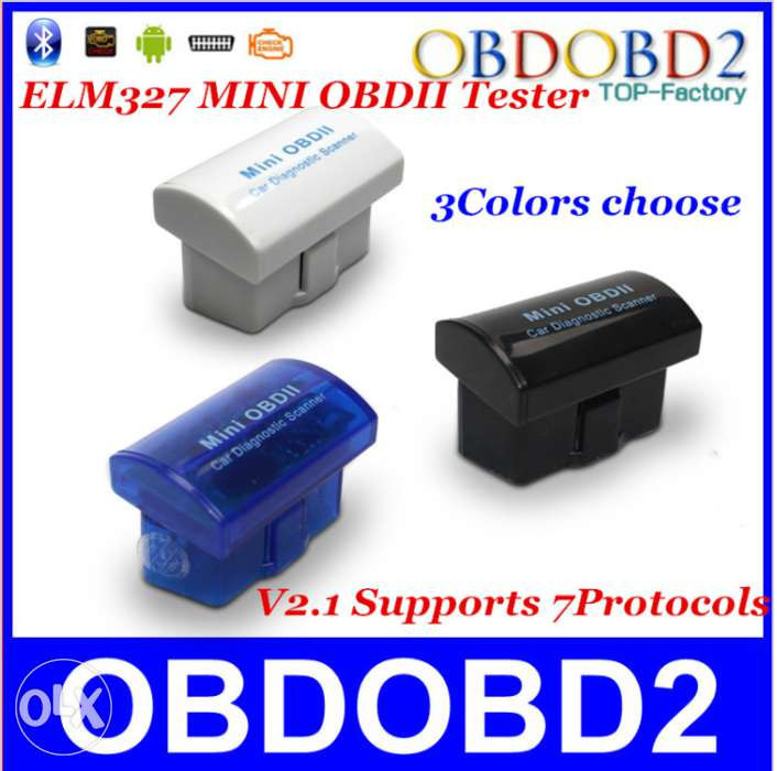 Диагностический сканер mini OBDII