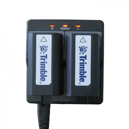 Зарядное устройство двойное для Trimble 54344