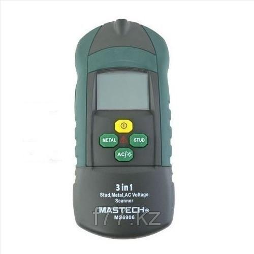 Индикатор 3 в 1 MASTECH MS6906 ,металлоискатель ,скрытой проводки,арматуры