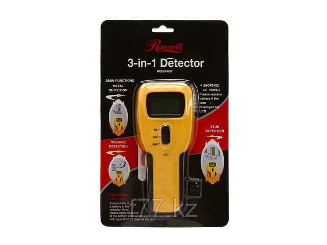 Индикатор 3 в 1 Rosewill REGD-6361 металлоискатель ,скрытой проводки,арматуры