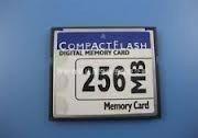 Карта памяти CF Card 256MB
