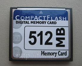 Карта памяти CF Card 512MB