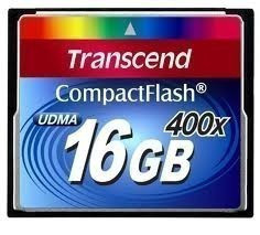 Карта памяти Transcend CompactFlash 400x 16Gb