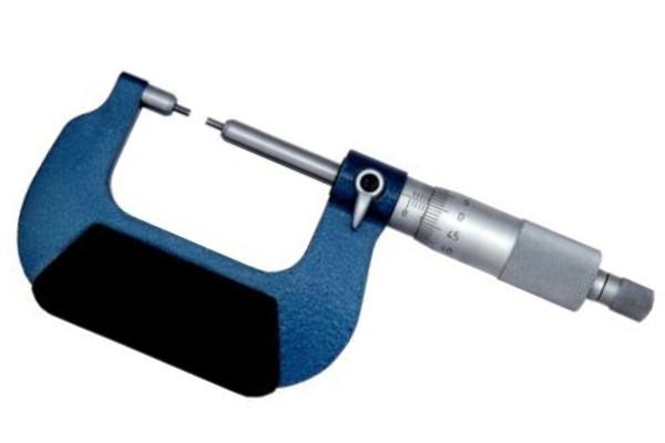 Микрометр с малыми измерительными поверхностями МК-МП 0-25мм 0,01
