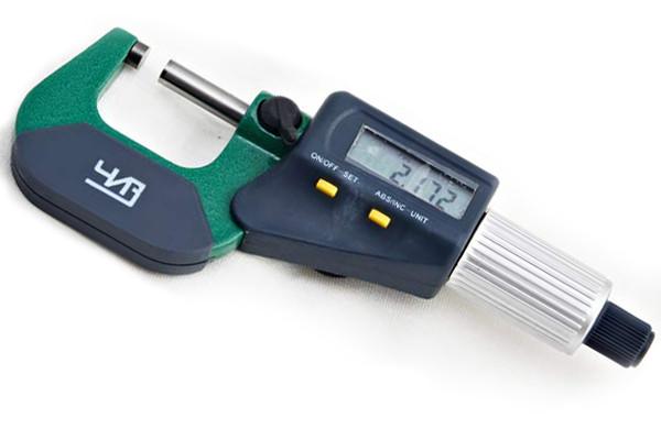 Микрометр гладкий цифровой электронный ЧИЗ 0,001мм  МКЦ 75