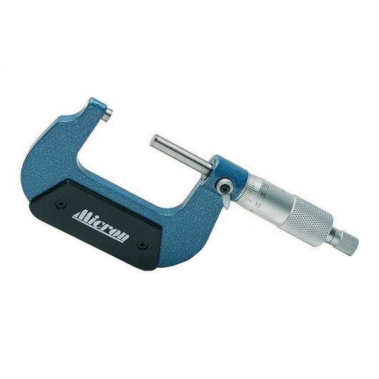 Микрометр гладкий цифровой с механическим бегунком Micron 0,01мм  МКЦМ-150