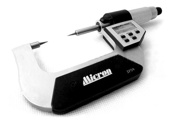 Микрометр электронный точечный Micron 0,001мм  МКЦ-ТП 0-25мм
