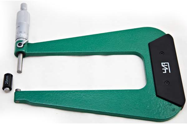 Микрометр листовой 0,01мм   МЛ 0-25