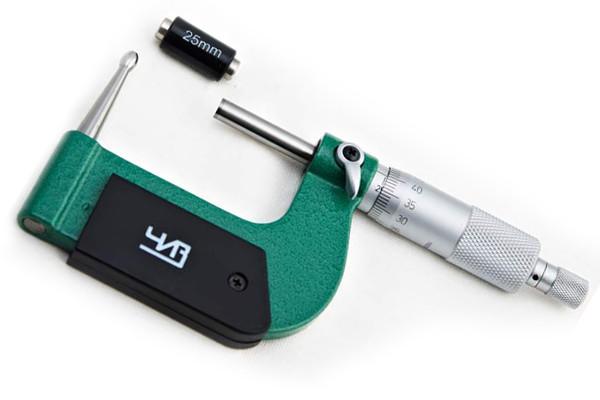 Микрометр точечный ЧИЗ 0,01мм   МТ 0-25