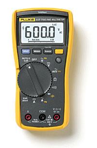 Мультиметр электромонтера Fluke 117 с бесконтактным индикатором напряжения
