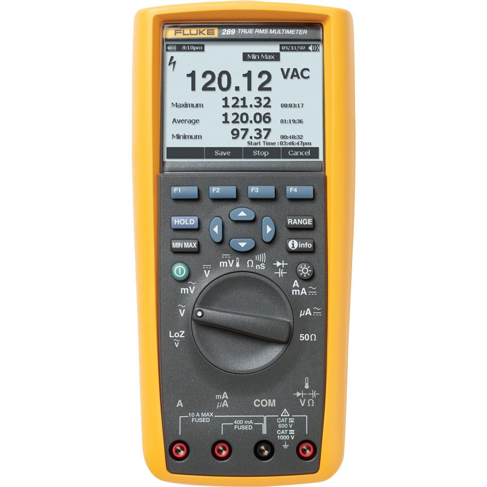 Регистрирующий цифровой мультиметр истинных среднеквадратичных значений Fluke 280
