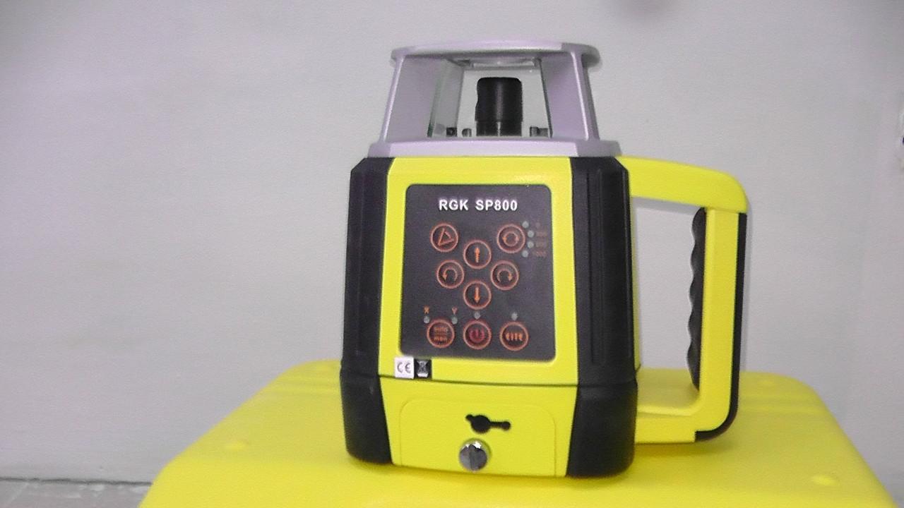 Ротационный лазерный нивелир SP800