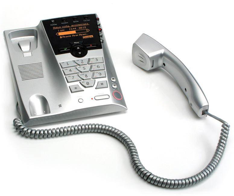 Телефон с АОН и записью разговоров «Палиха-750 DECT»