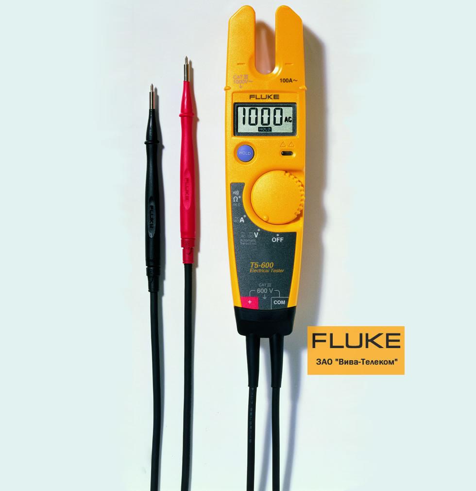 Тестеры Fluke T5-600 для измерения напряжения, силы тока и проверки целостности цепи