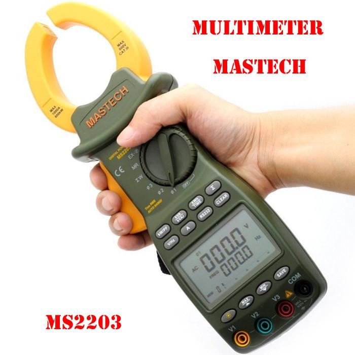 Токоизмерительные клещи Mastech MS2203