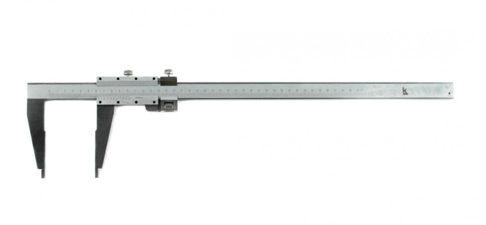 Штангенциркуль твердосплавный  ЧИЗ ШЦ-3-500 0,1мм губки 100мм тверд.