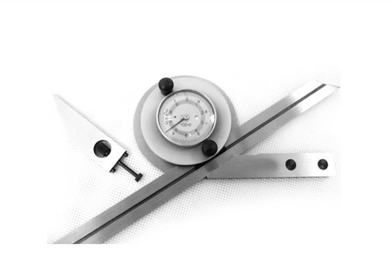 Угломер с нониусом 0-360 5´ с лупой