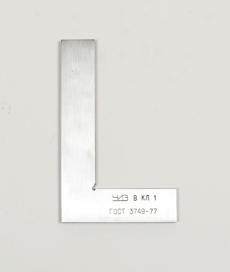 Угольник поверочный ЧИЗ  УП 160х100 кл1
