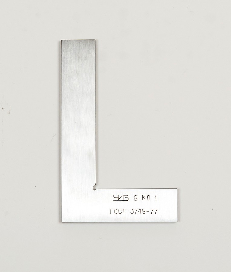 Угольник поверочный ЧИЗ  УП 160х100 кл2