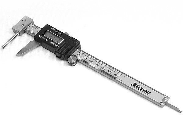 Штангенциркуль электронный для стенок труб Micron ШЦЦ-Т 300mm 0,01