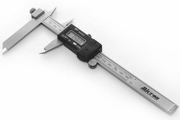 Штангенциркуль электронный для уступов с перемещаемой губкой  Micron ШЦЦ-У 200mm 0,01