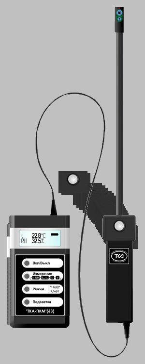 """""""ТКА-ПКМ""""(63) люксметр+измеритель температуры+влажности и скорости движения воздуха"""