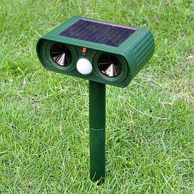 Отпугиватель животных (собак, кошек) на солнечных батареях
