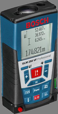 Лазерный дальномер Bosch GLM 250 VF Professional +Строительныq штатив Bosch BT 150 Professional