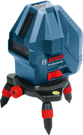 Линейный лазерный нивелир  Bosch GLL 3-15 X Professional + мини штатив