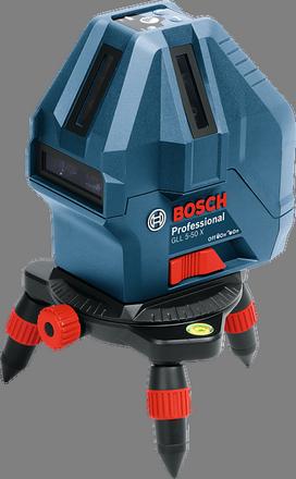 Линейный лазерный нивелир  Bosch GLL 5-50 X Professional+ мини штатив