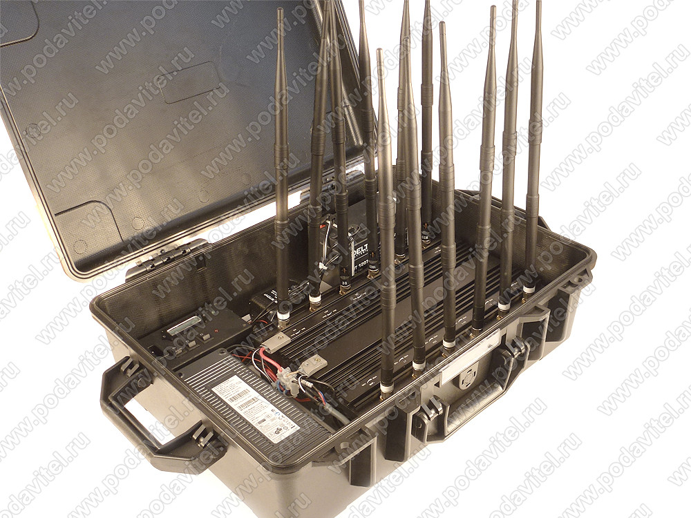 """Мультичастотный мобильный подавитель """"Терминатор 150 - Кейс-1"""""""