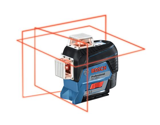 Линейный лазерный нивелир Bosch GLL 3-80 C Professional