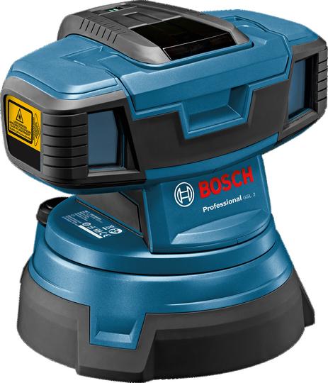 Линейный лазерный нивелир Bosch GSL 2 Professional (премиум версия)