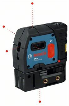 Точечный лазер Bosch GPL 5 Professional
