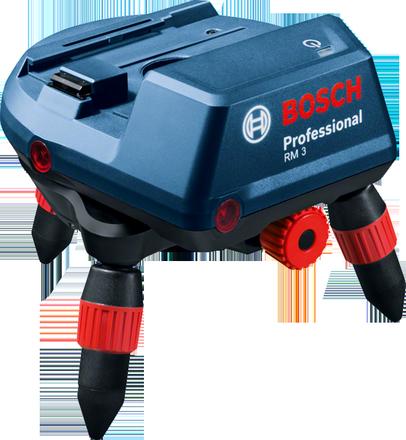 Механическое вращающееся крепление для интеллектуальной и точной регулировки линии Bosch RM 3 Professional