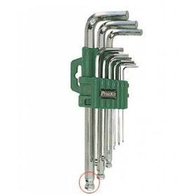 HW-129/8PK-029 Pro'sKit Набор ключей-шестигранников (9шт., удлиненная ручка) Pro'sKit
