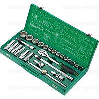 """SK-612401M Pro'sKit Набор инструментов для авто универсальный (1/2"""",1/4"""",124 предмета)"""
