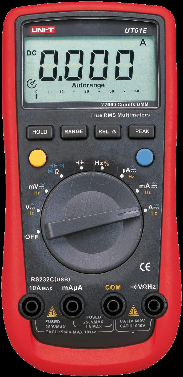 UNI-T UT61E Мультиметр цифровой